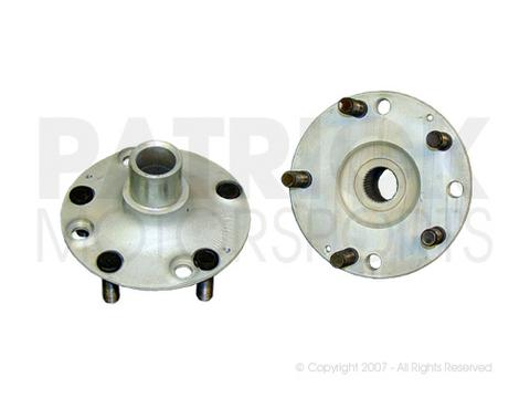 914-4 Rear Wheel Hub Flange Adapter Set - 5 Bolt Stud Wheel Conversion