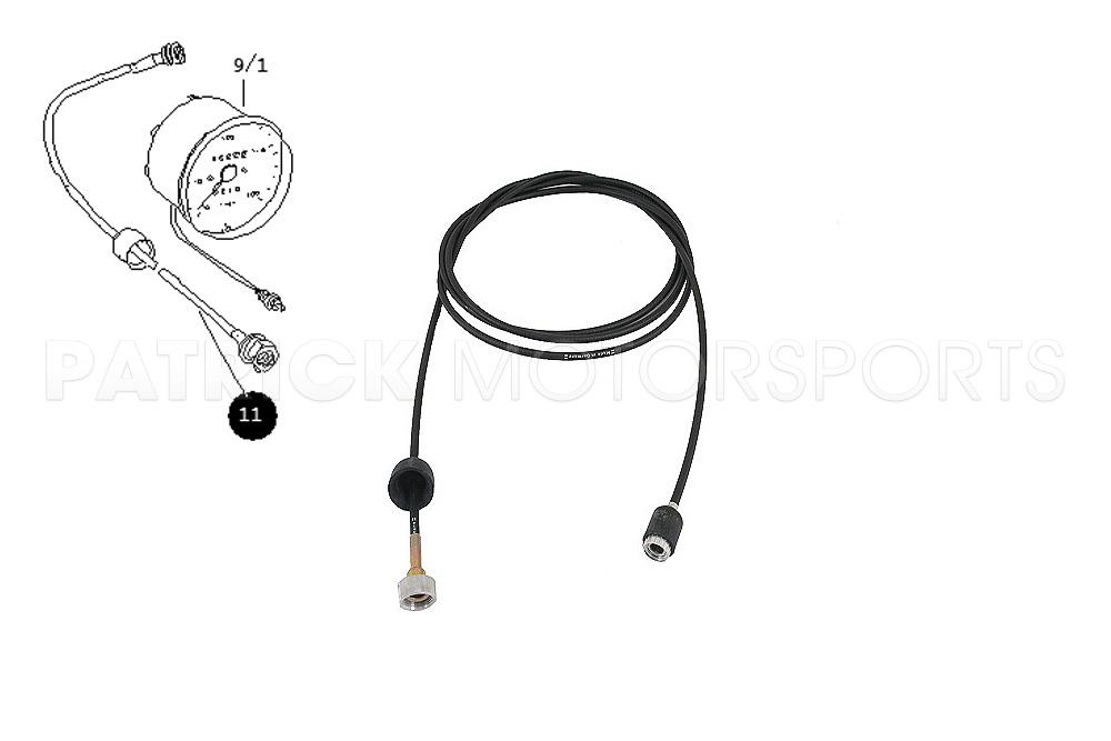 914 Instruments Speedometer Drive Shaft Cable