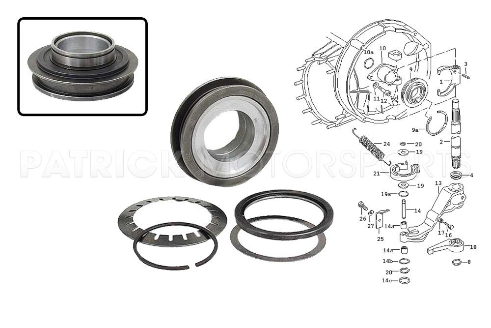 Clutch Release Bearing - 911 - 915 -225MM