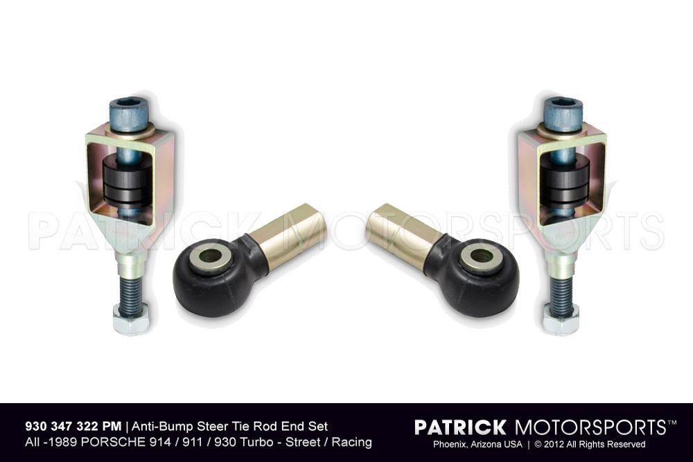 Anti-Bump Steer Tie Rod End Set - 914 / 911 / 930 Turbo