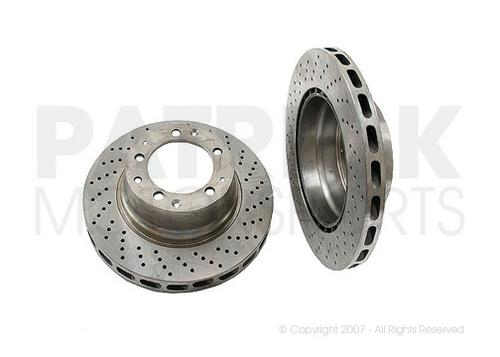 Brake Disc Rotor Porsche Right Rear 911 / 930