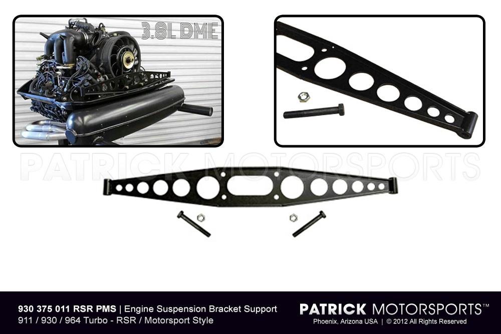 Engine Suspension Bracket Support (Cross Member) - RSR Style 911 / 930 / 965