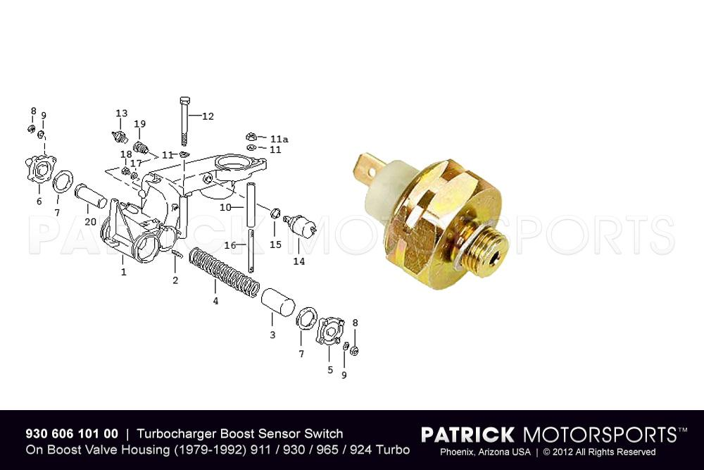 Turbocharger Boost Pressure Switch