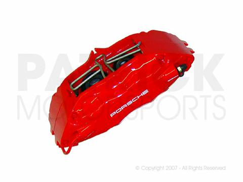 Brake Caliper - Front Left - (Big Red) - PORSCHE 911 (993) Turbo / C4 S / M491 Turbo Look