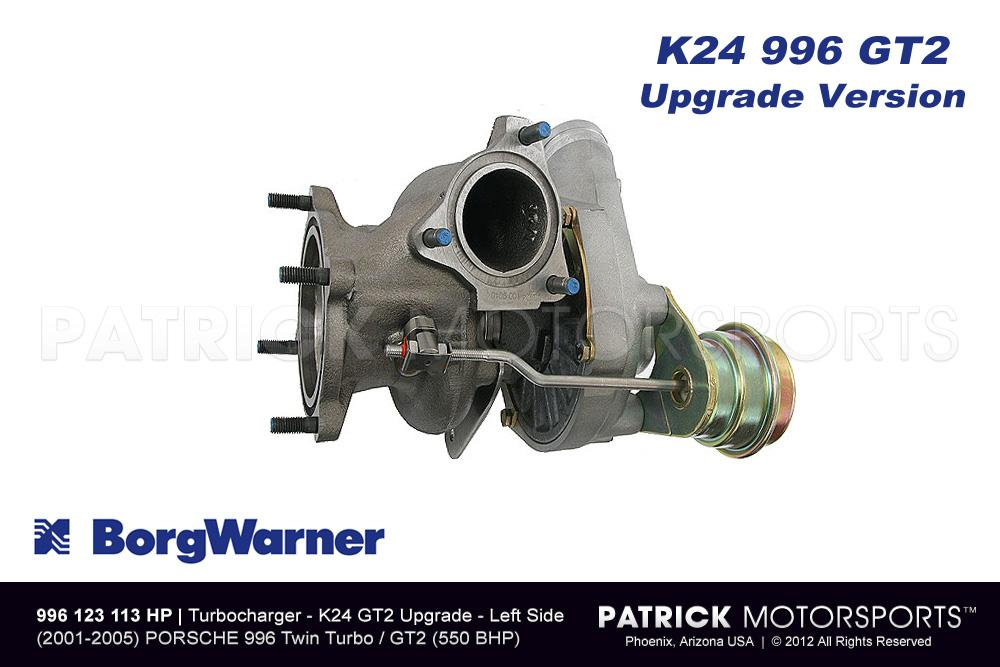 Turbocharger Borg Warner K24 911 / 996 / GT2 Turbo Left