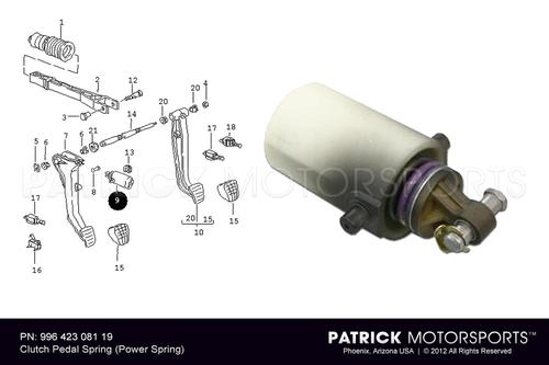 Clutch Pedal Spring (Power Spring)