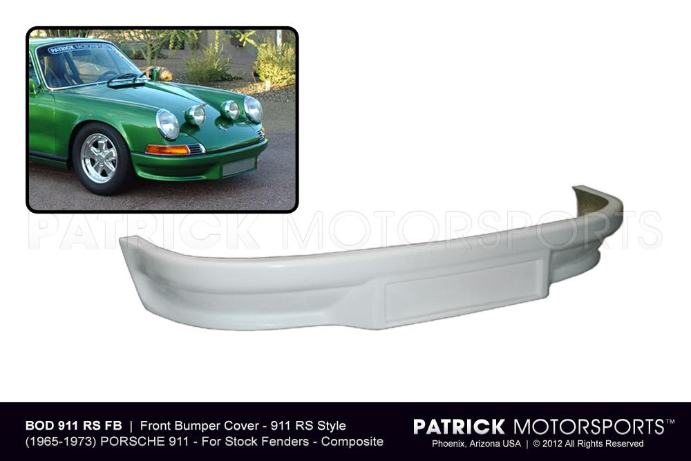911 RS Front Bumper Cover w/ Oil Cooler Cutout
