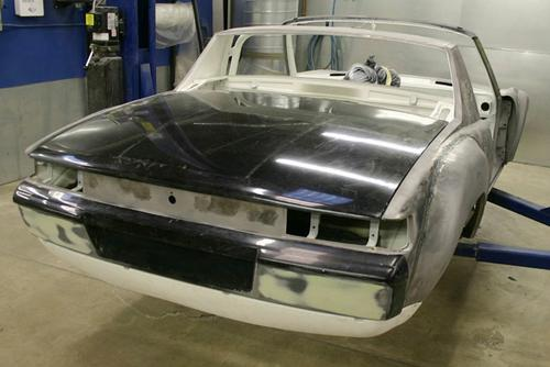 BODY REAR DECK LID - PORSCHE 914