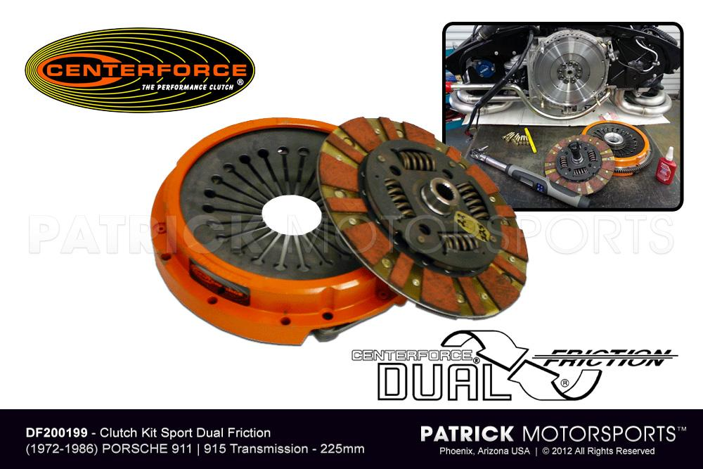 Clutch Kit 911 915 225mm Centerforce DF200199