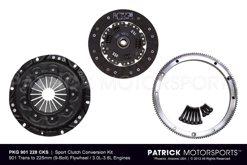 914 Clutch Conversion - 911 225mm Flywheel to 901 Transmission - Street