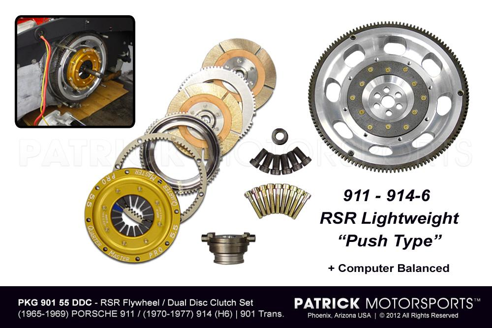 901 RSR Flywheel & 5.50 In Dual Disc Clutch Package
