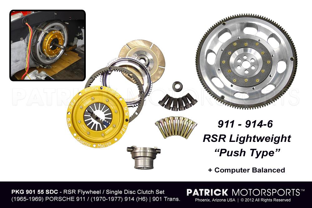 901 RSR Flywheel & 5.50 Inch Clutch Package - Single Disc Clutch