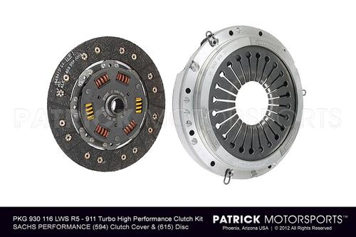 911 TURBO / 930 SPORT CLUTCH SET - (1975-1977) PORSCHE 911 TURBO 3.0L / 930 4 SPEED - RUF SHORT
