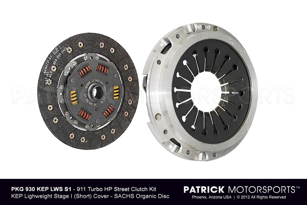 911 Turbo / 930 Sport Clutch Set - (1975-1977) PORSCHE 911 Turbo 3.0L / 930 4 Speed - Short Stage 1