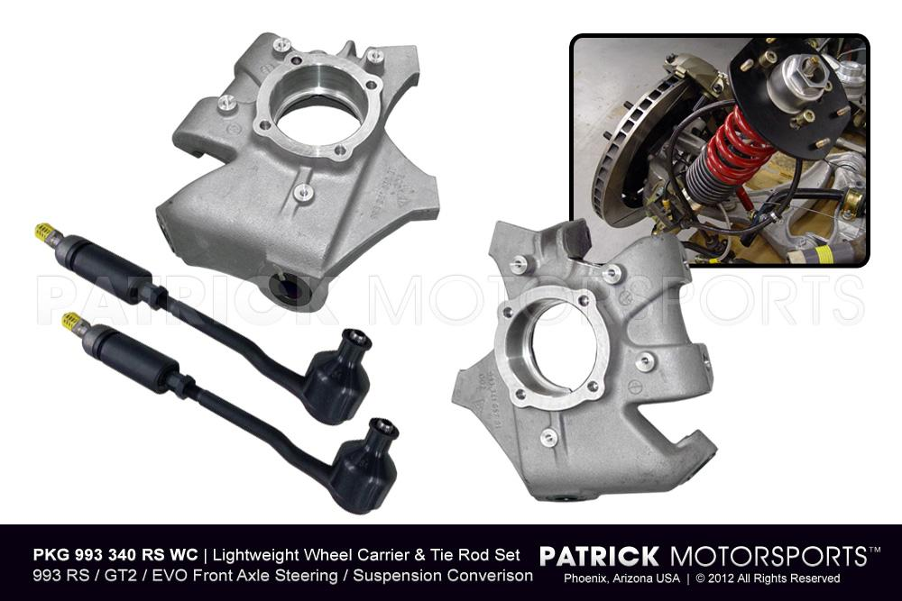 993 RS / GT2 / EVO Lightweight Wheel Carrier / Hub & T-Rod Package
