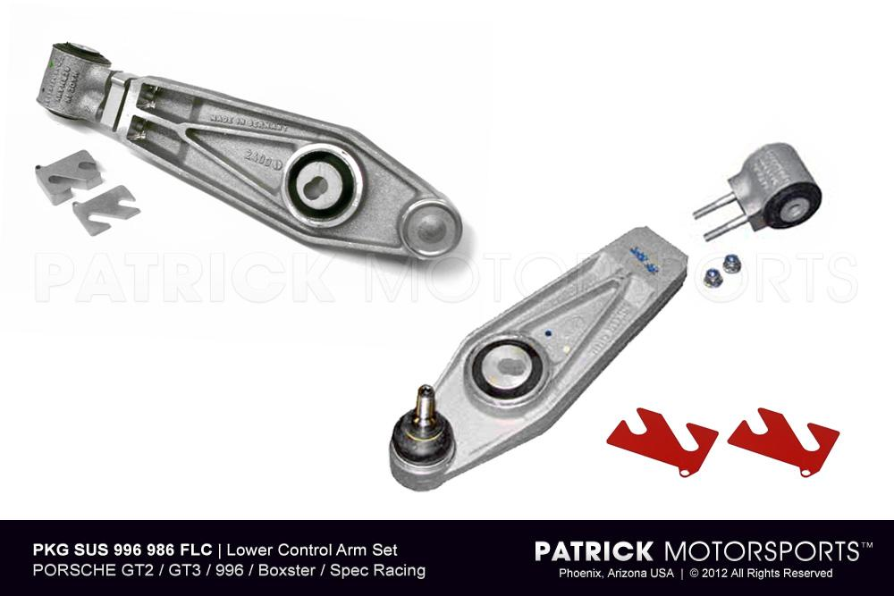 Porsche GT2 GT3 Lower Control Arm Set Boxster Spec 986 996