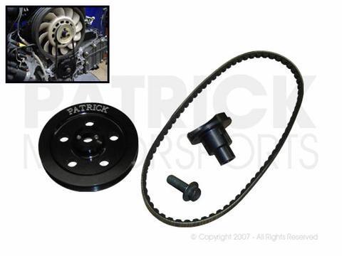 911 - 930 - 914 Single Belt Engine Crank Pulley & Fan Drive Set to 993 3.6L / RSR Conversion