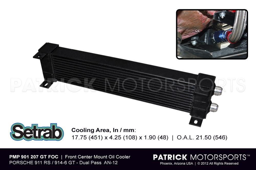 Front Center Mount Oil Cooler - RS / GT