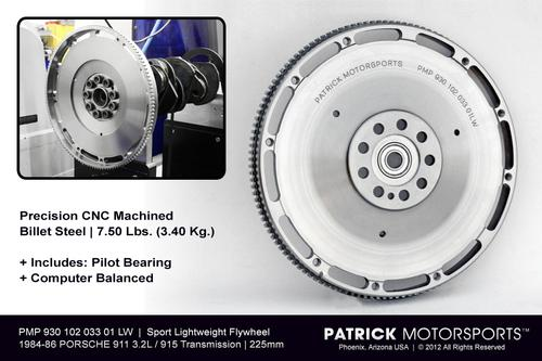 Engine Flywheel 911 Carrera 3.2L DME - 915 225mm - Sport Lightweight