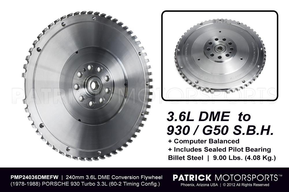 Flywheel - 911 930 Sport Lightweight 3.6L DME / G50 SBH Conversion - 240mm
