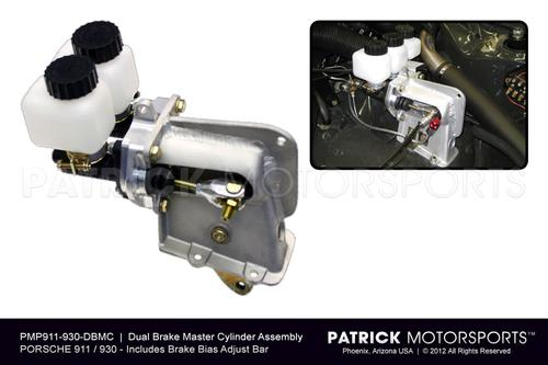 911 - 930 Dual Brake Master Cylinder System with Adjustable Brake Bias