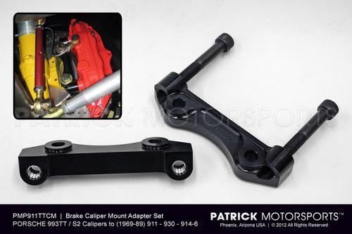 993TT Caliper Mount Adapter Set for 911 / 930 / 914-6