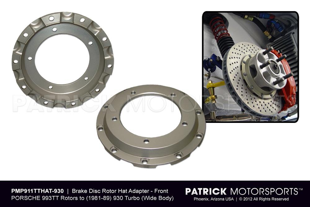 Brake Disc Rotor Hat Adapter Set - 930 Turbo Wide Body