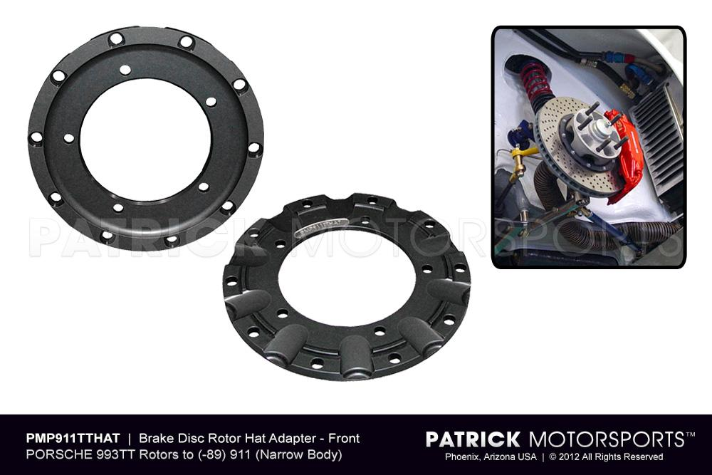 Brake Disc Rotor Hat Adapter 911 993TT