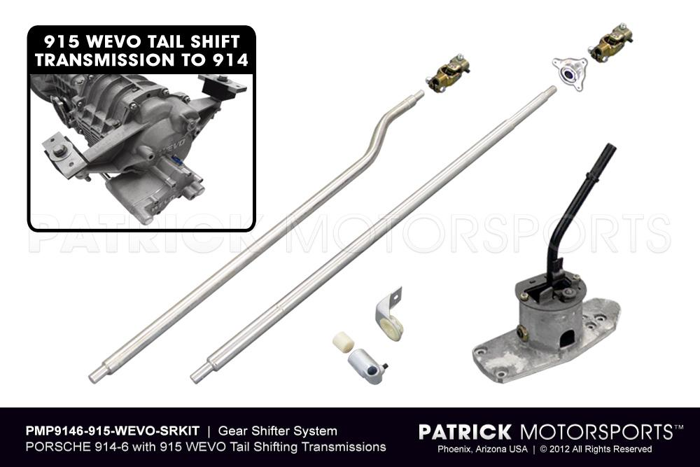 914 6 Gear Shifter System to 915 WEVO Tail Shifter Transmission