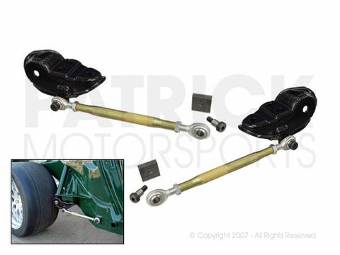 Adjustable Tow Link Set - (1970-1974) PORSCHE 914 / 914-6 Rear Axle Suspension