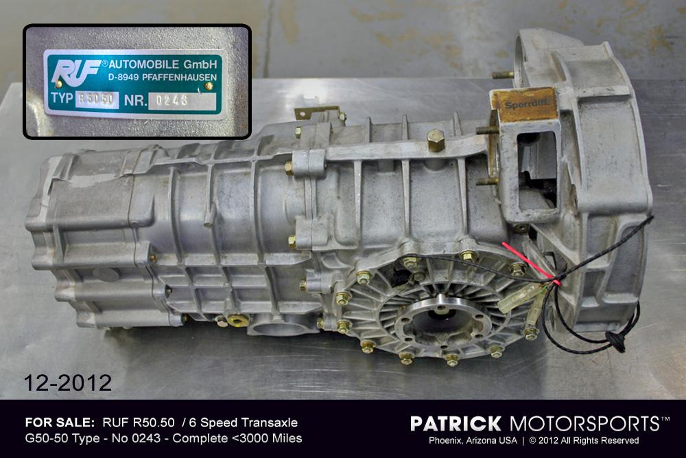 RUF R50.50  6-Speed Transmission Transaxle