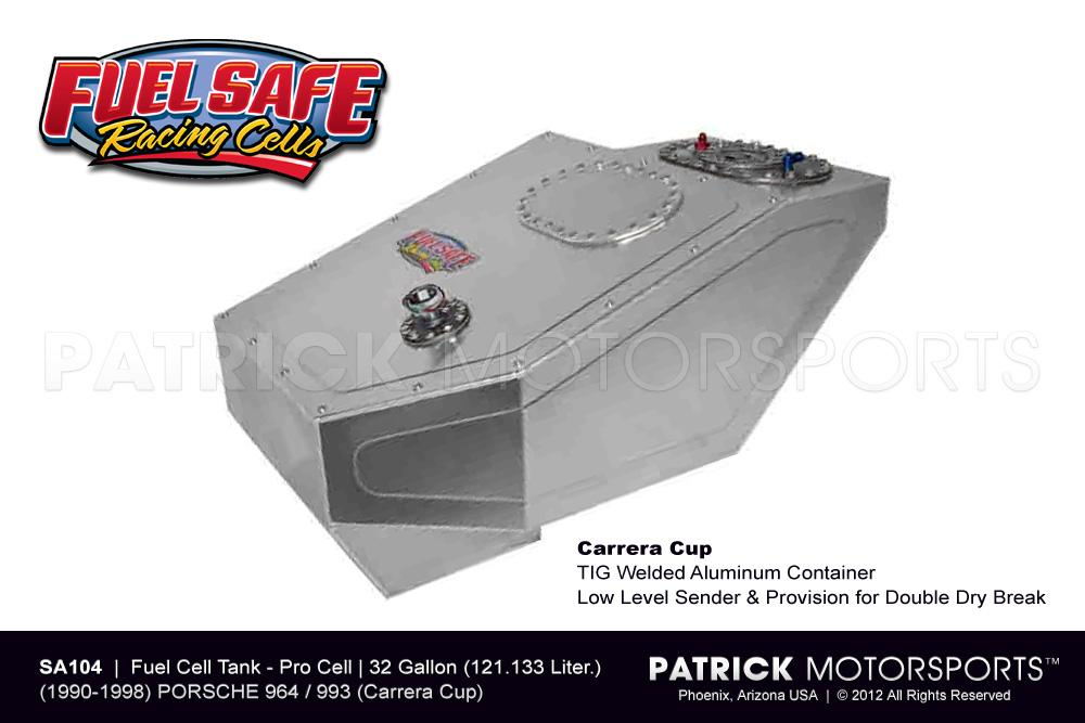 Fuel Cell Tank 32 Gallon - 911 / 964 & 993 Carrera Cup Fuel Safe