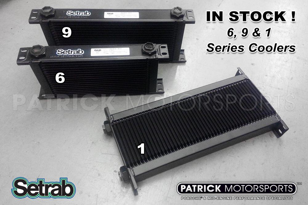 Heat Exchanger / Oil Cooler - 10 Row Pro Line STD 9 Series - Setrab