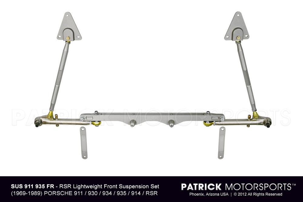 911 930 935 RSR Lightweight Front Control Arm & Cross Member Suspension Set