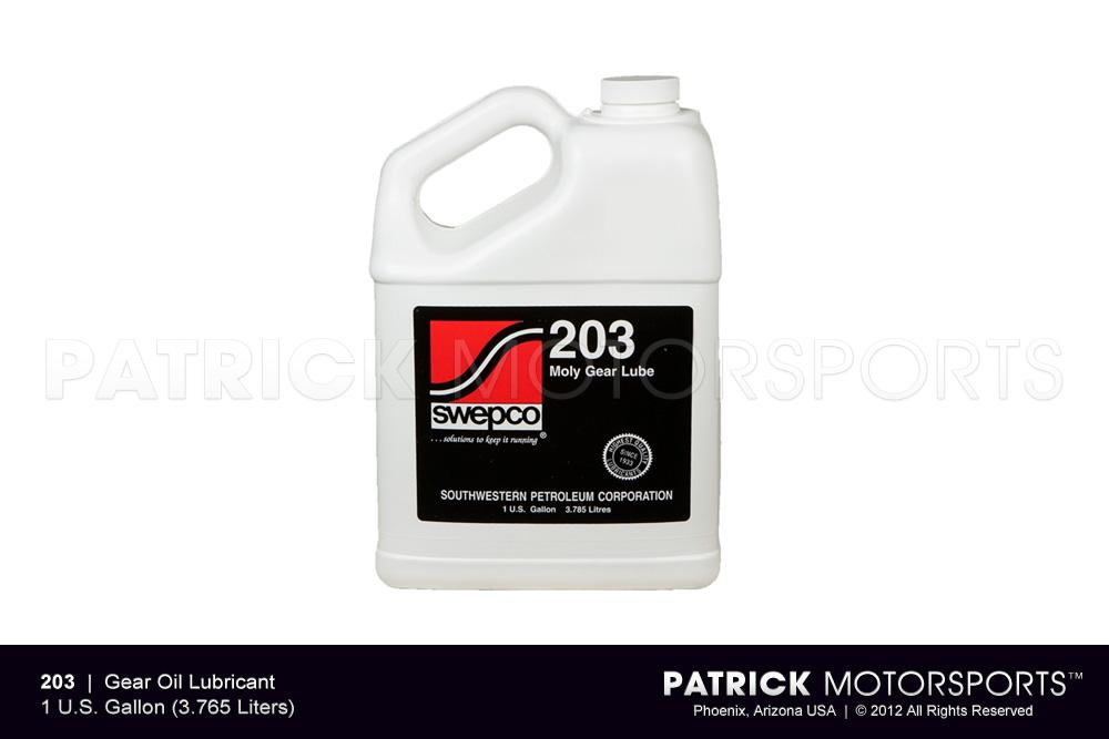 Transmission Gear Lube Oil - SWEPCO 203