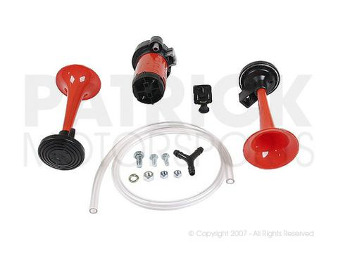 Accessory Air Horn Set - 2 Tone Air Horn Kit