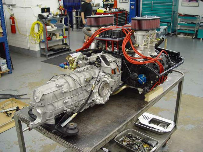 Albarran - 11 - Trans Install Engine