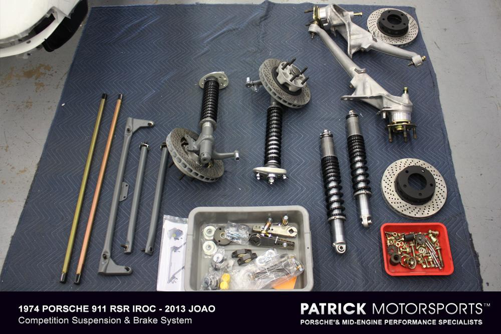 74 911 IROC JA Suspension Setup