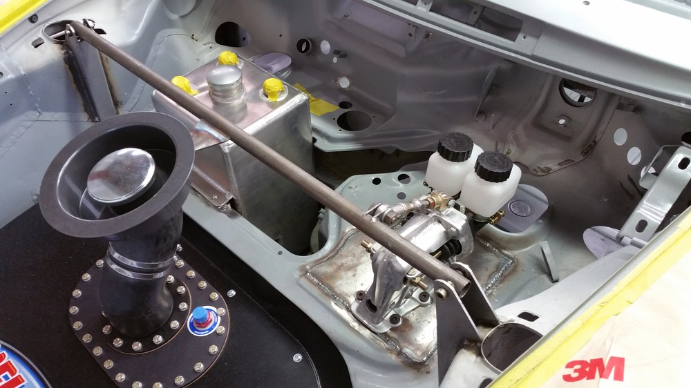 911 RSR TURBO with dual brake masters