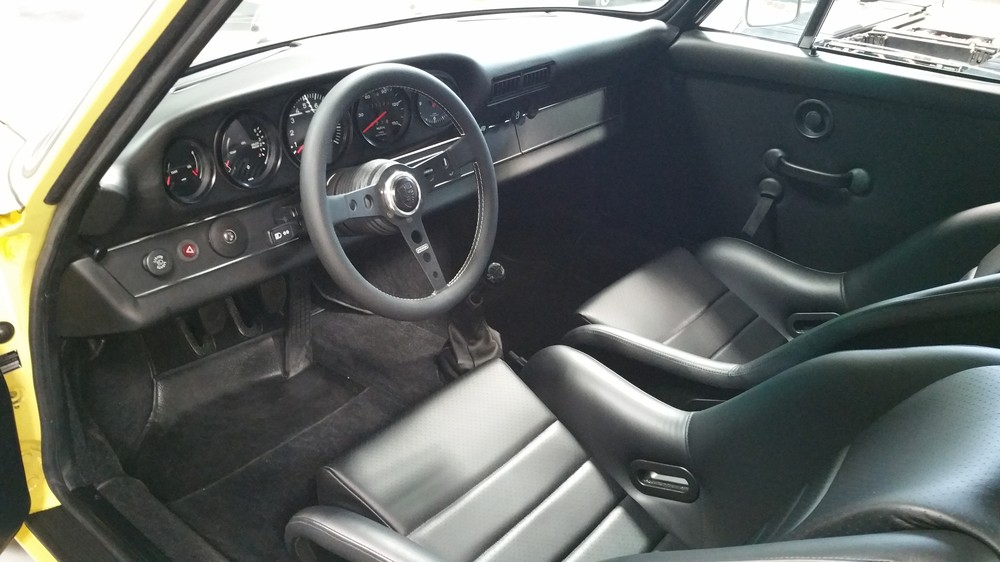 911 SC to RS interior