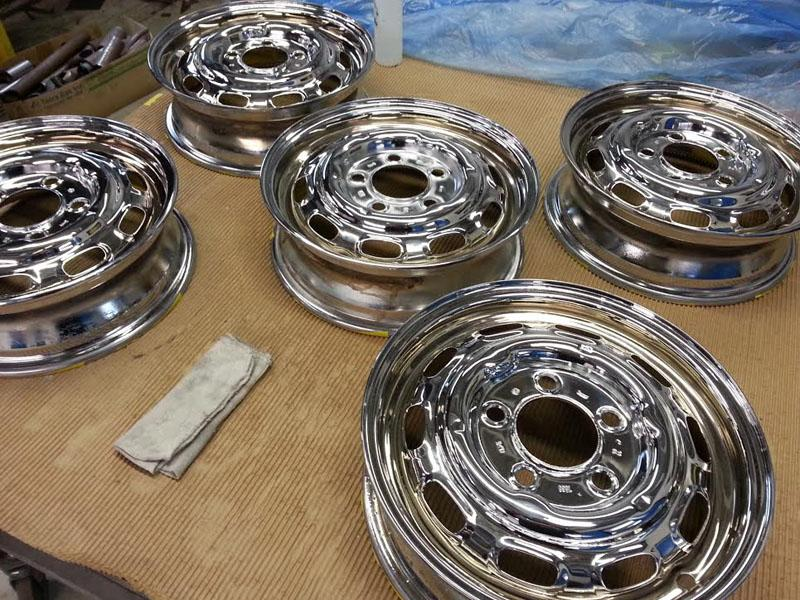 66 912 CHROME RIMS
