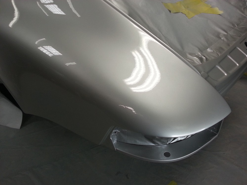 69 911 E MFI left rear fender with paint