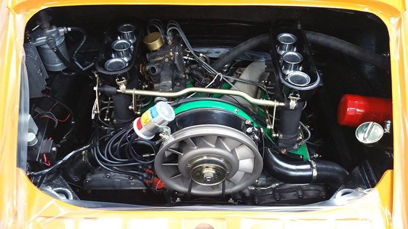 1970 911 E engine in
