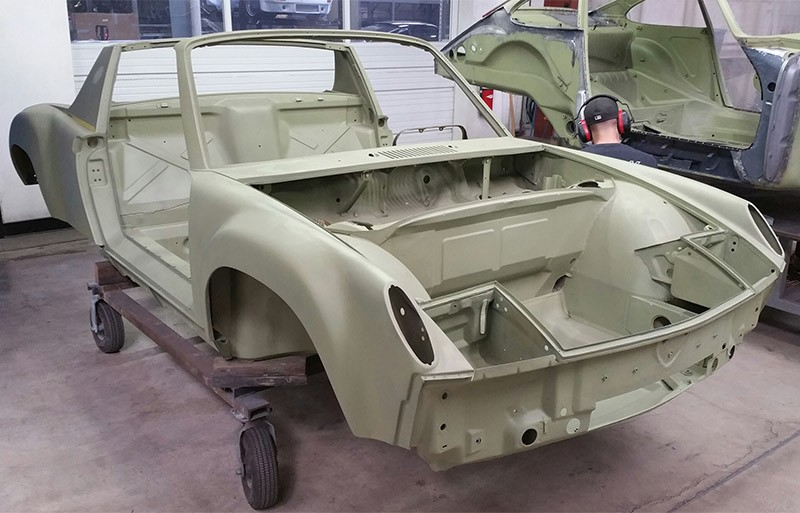 73 914 6 GT Chassis in Zinc