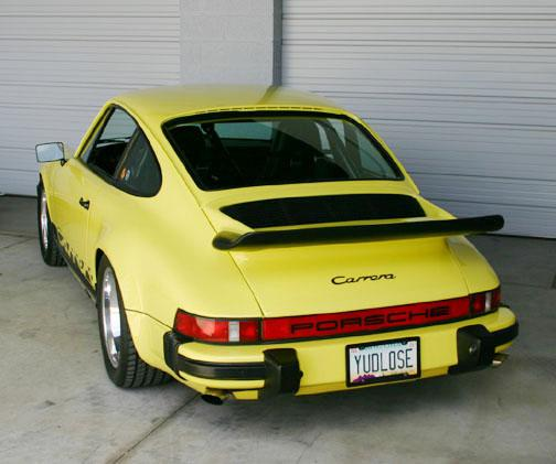 74 Carrera rear YUDLOSE