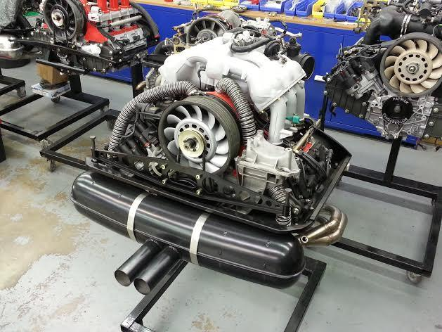 84 911 ST 38L ENGINE