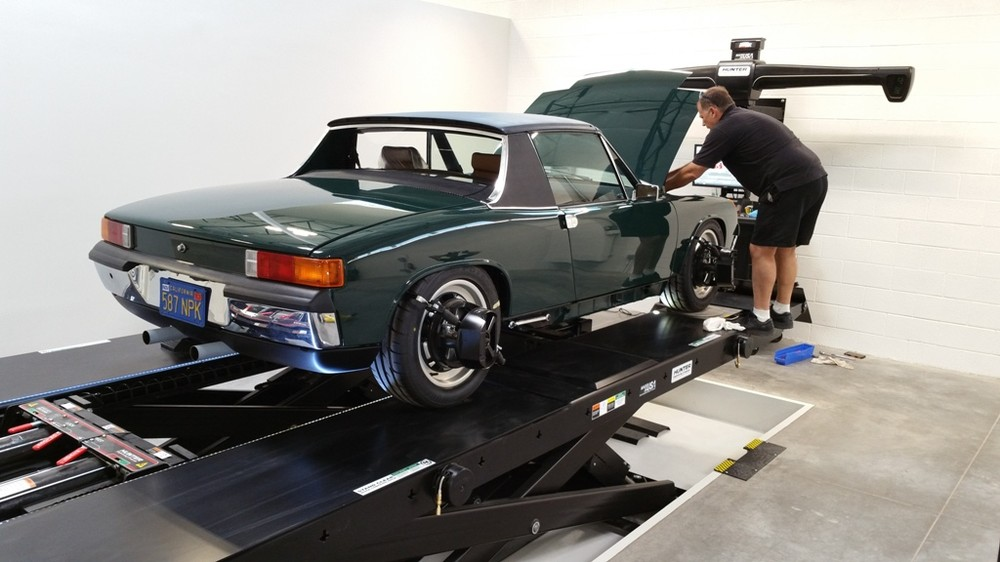 914-6 4 wheel alignment