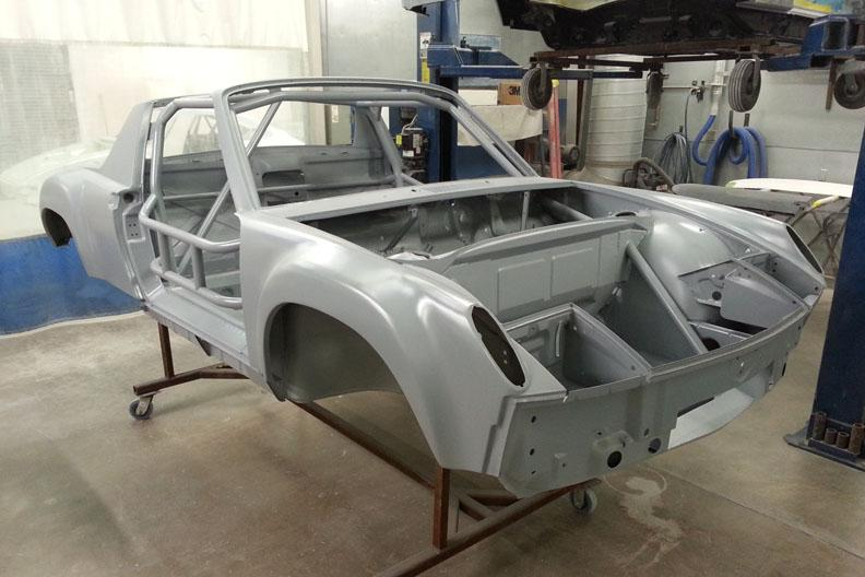 914-6 GT JM chassis front in DTM