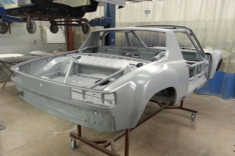 914-6 GT JM chassis rear in DTM