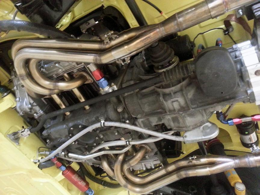 914-6 GT PS engine trans bottom